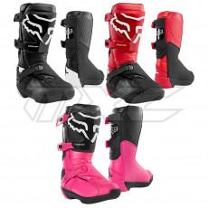 FOX COMP 3Y Motocross Kinder Stiefel schwarz