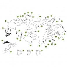 beta rr50 10 11 verkleidung sitzbank tank im motocross. Black Bedroom Furniture Sets. Home Design Ideas