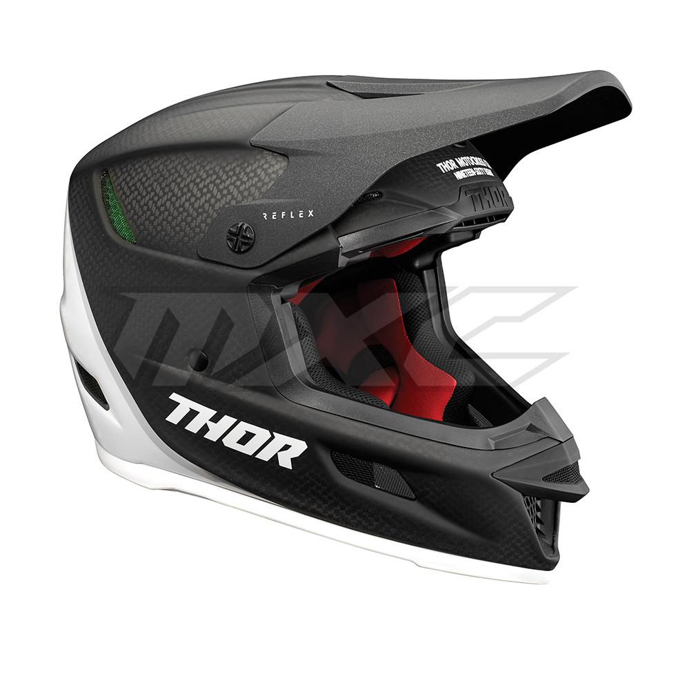 Thor Reflex Carbon Polar Mips Helmet im Motocross Enduro ...