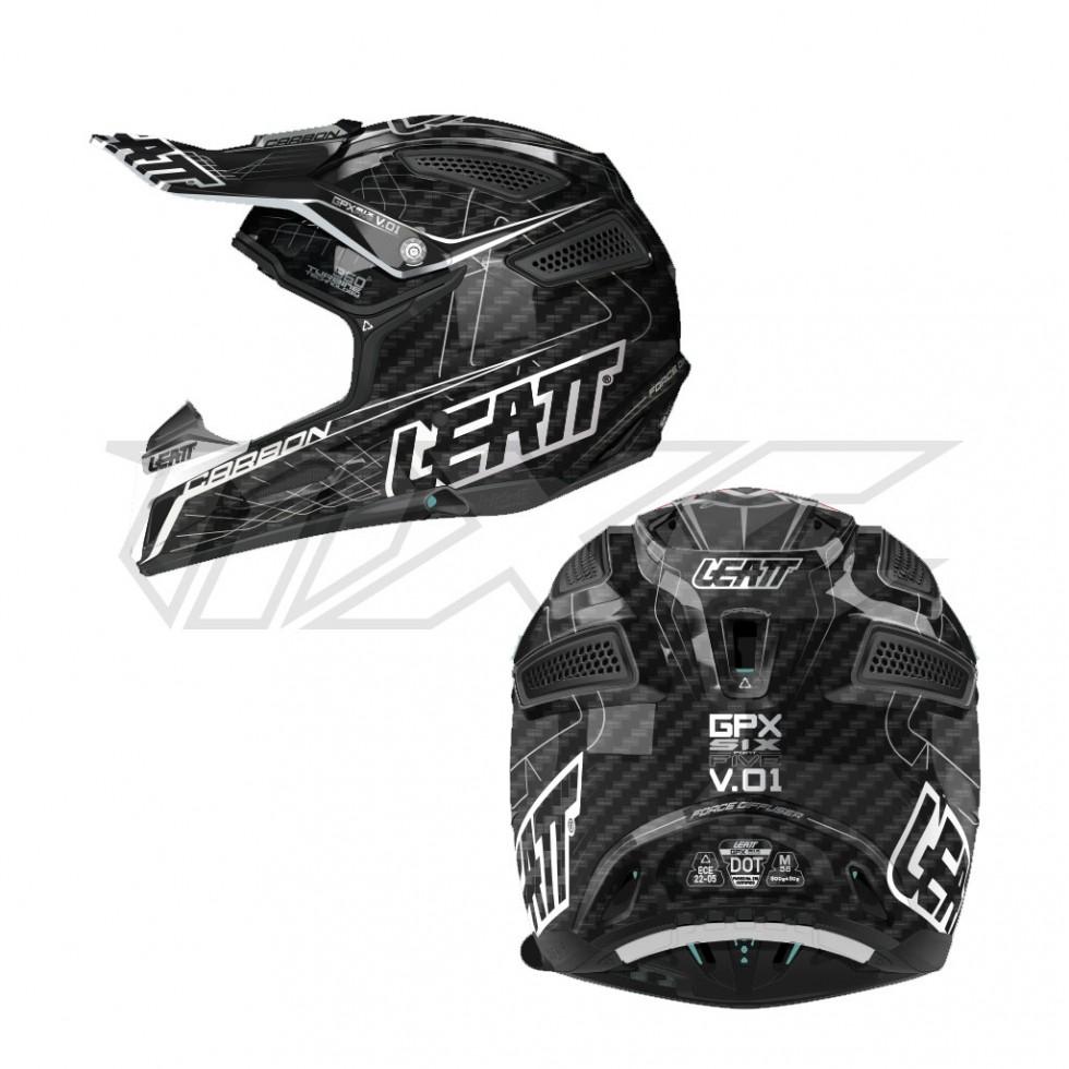 Leatt Helmet GPX 6.5 Carbon V01