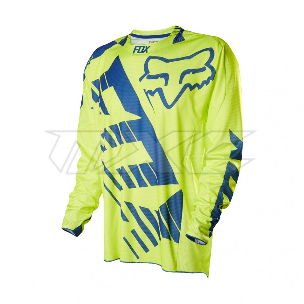 Fox 360 Savant Limited Edition Jersey blue yellow