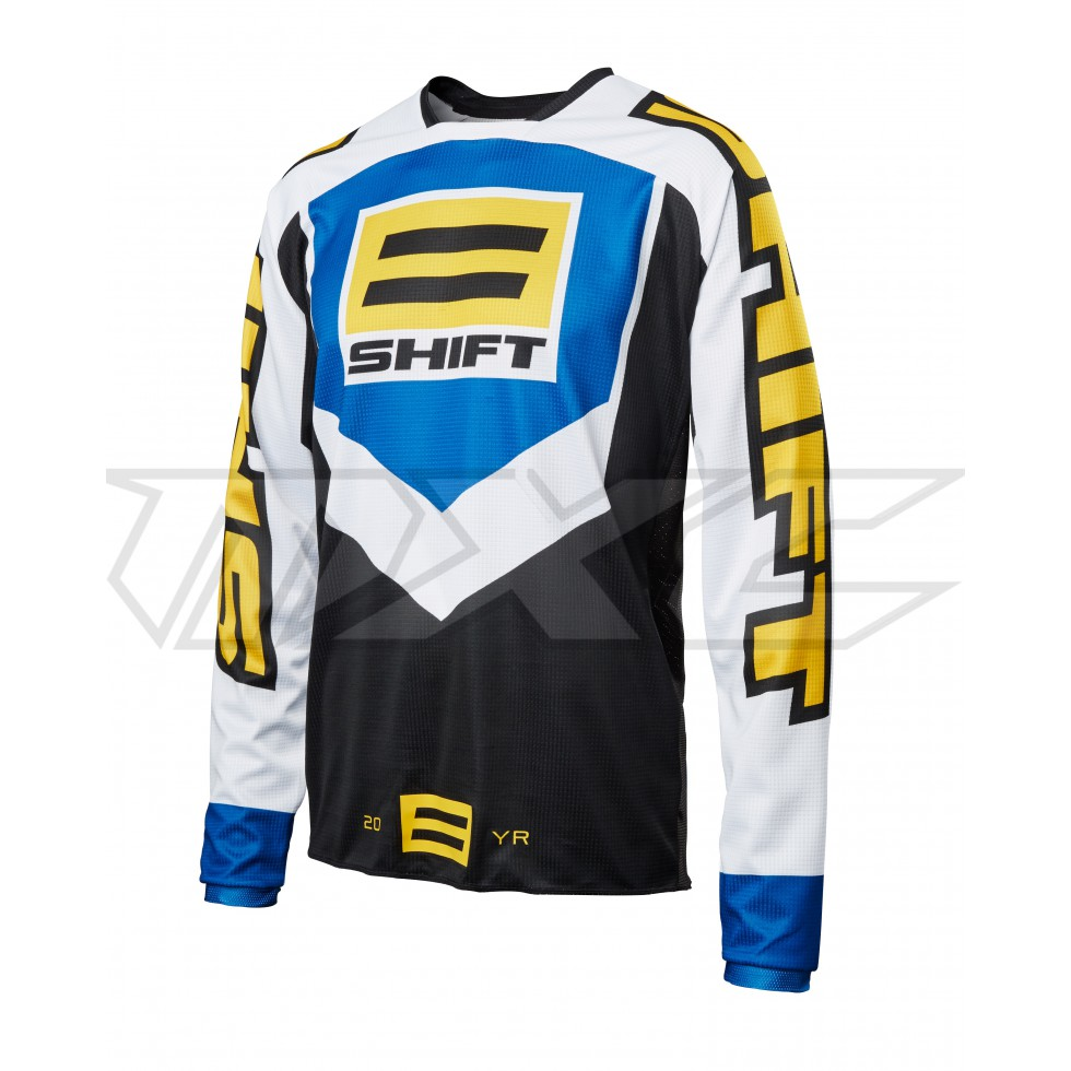 Shift Whit3 20 Year Throwback Jersey
