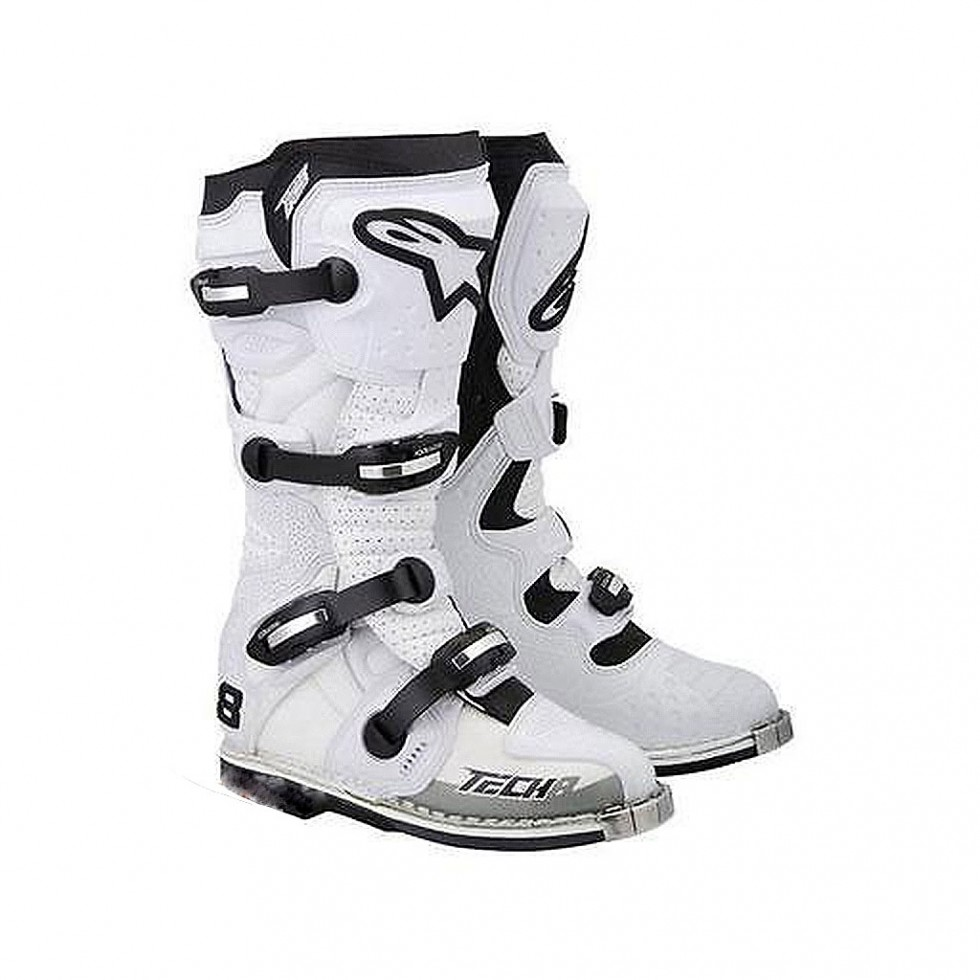 Alpinestars Boots Tech 8 RS white vented 12