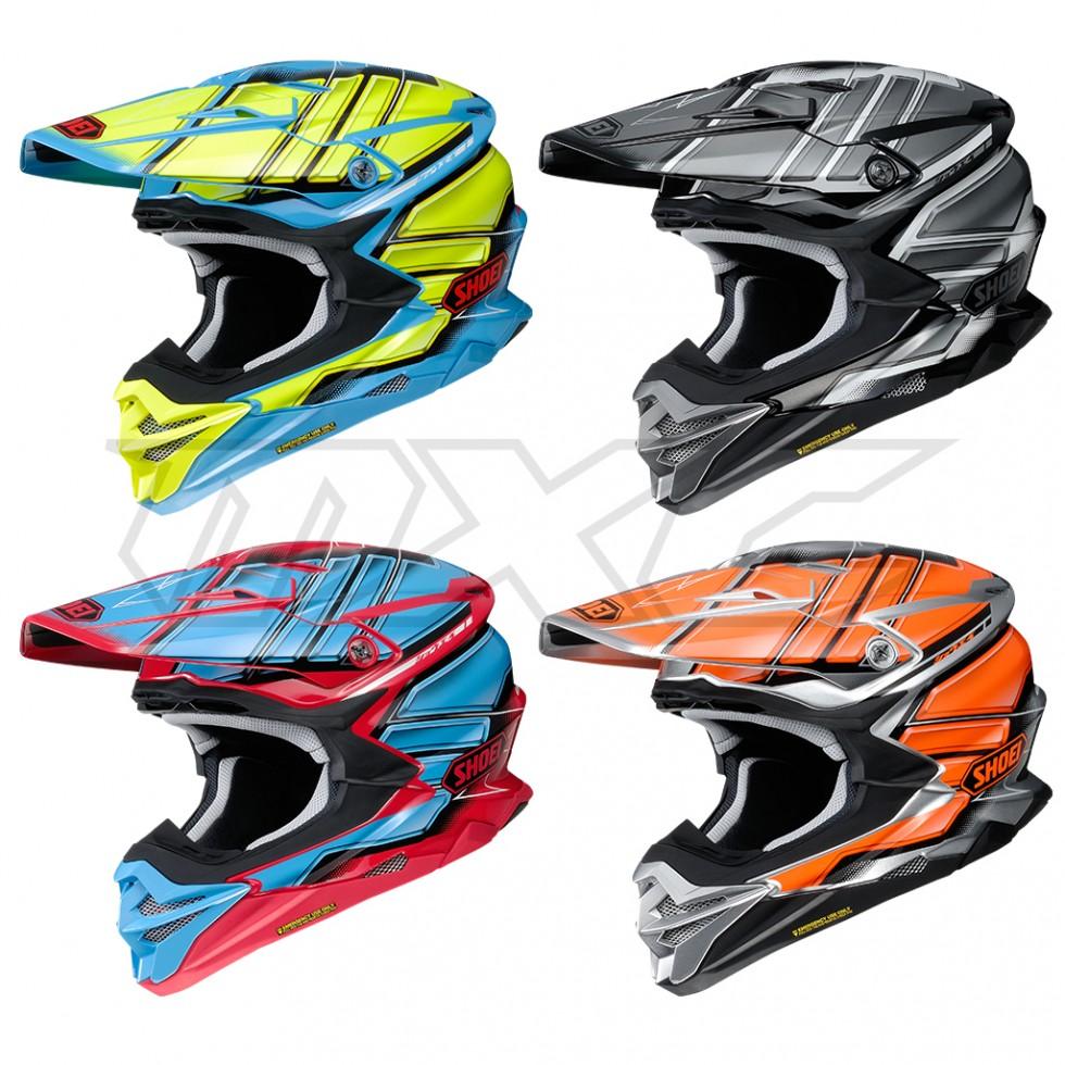 shoei vfx wr glaive helmet im motocross enduro shop mxc gmbh. Black Bedroom Furniture Sets. Home Design Ideas