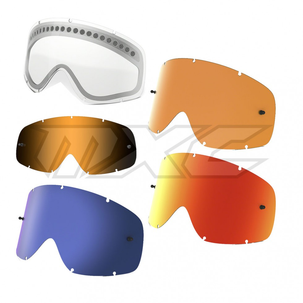 Oakley Sportbrille »O-Frame MX Replacement Lenses«, orange, orange