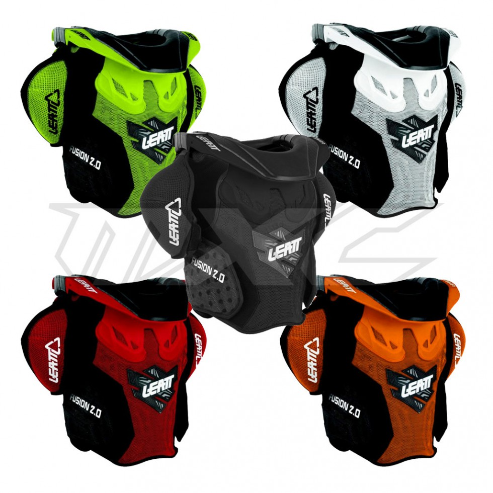 leatt brace fusion vest 2 0 junior im motocross enduro. Black Bedroom Furniture Sets. Home Design Ideas