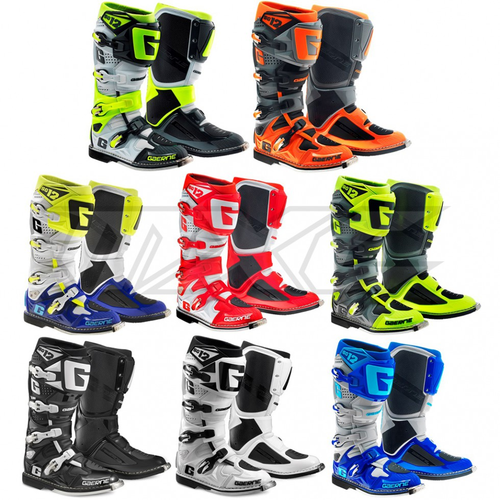 gaerne stiefel sg12 im motocross enduro shop mxc gmbh. Black Bedroom Furniture Sets. Home Design Ideas