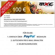 MXC Gutschein